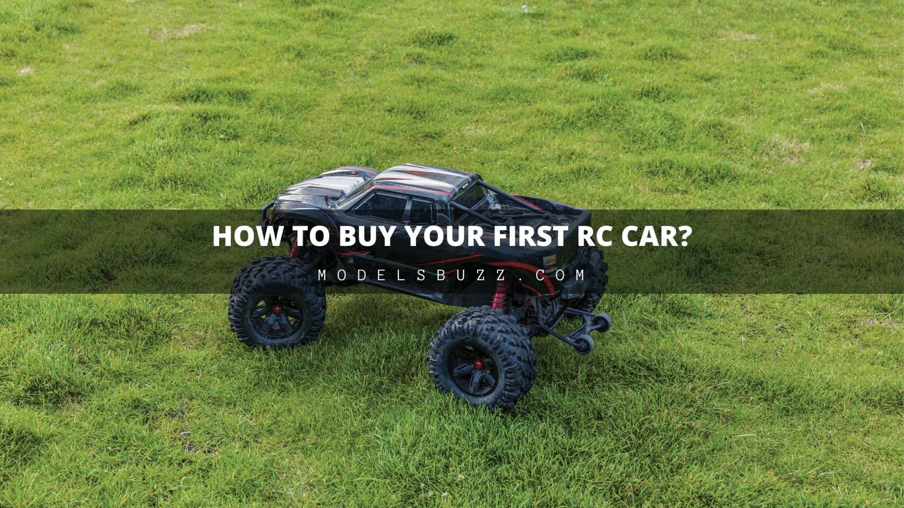 How To Buy Your First RC Car - beginners guide