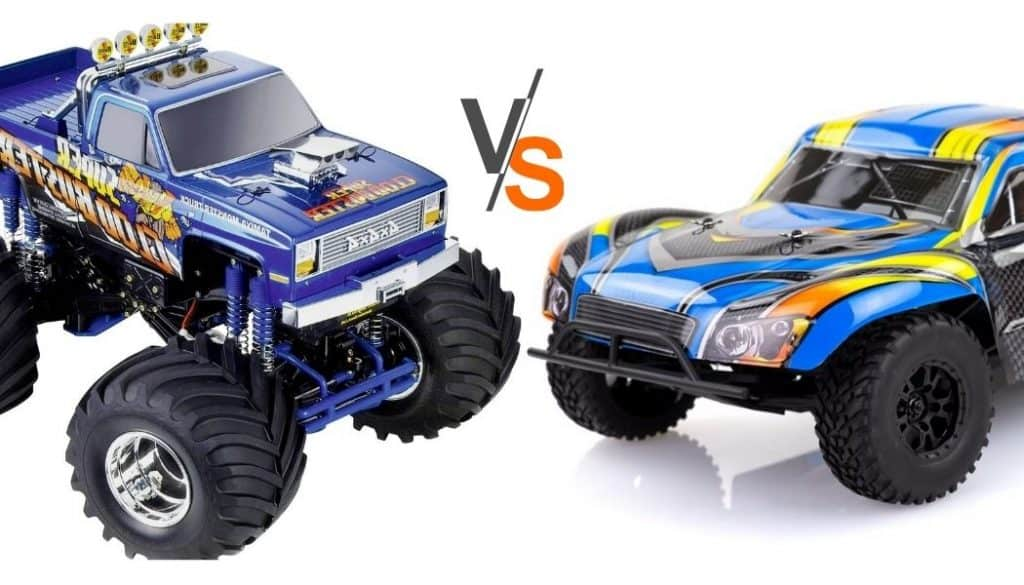 RC Monster Truck vs. Short Course car - which to buy?